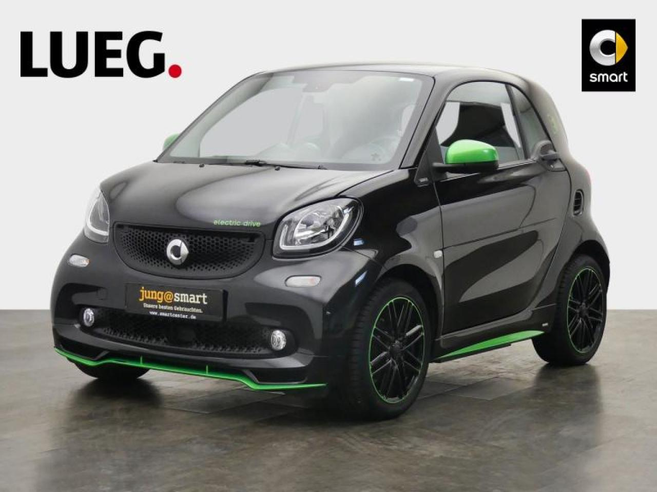 EQ fortwo coupe 60kW passion ''Brabus Greenflash