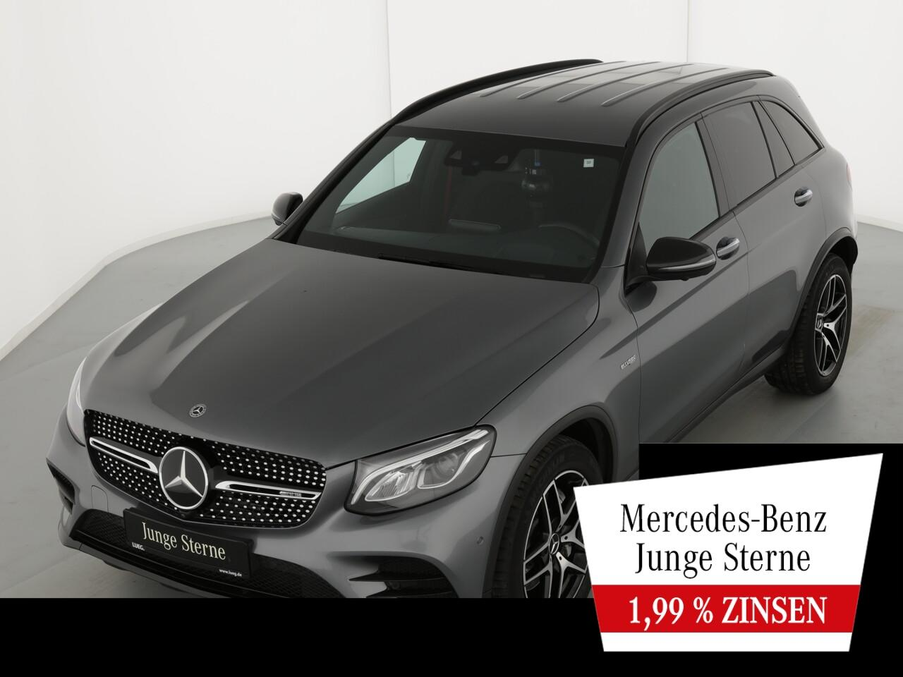GLC 43 AMG 4M COM+Burm+LED-HP+HUD+DistrP+AHK+360
