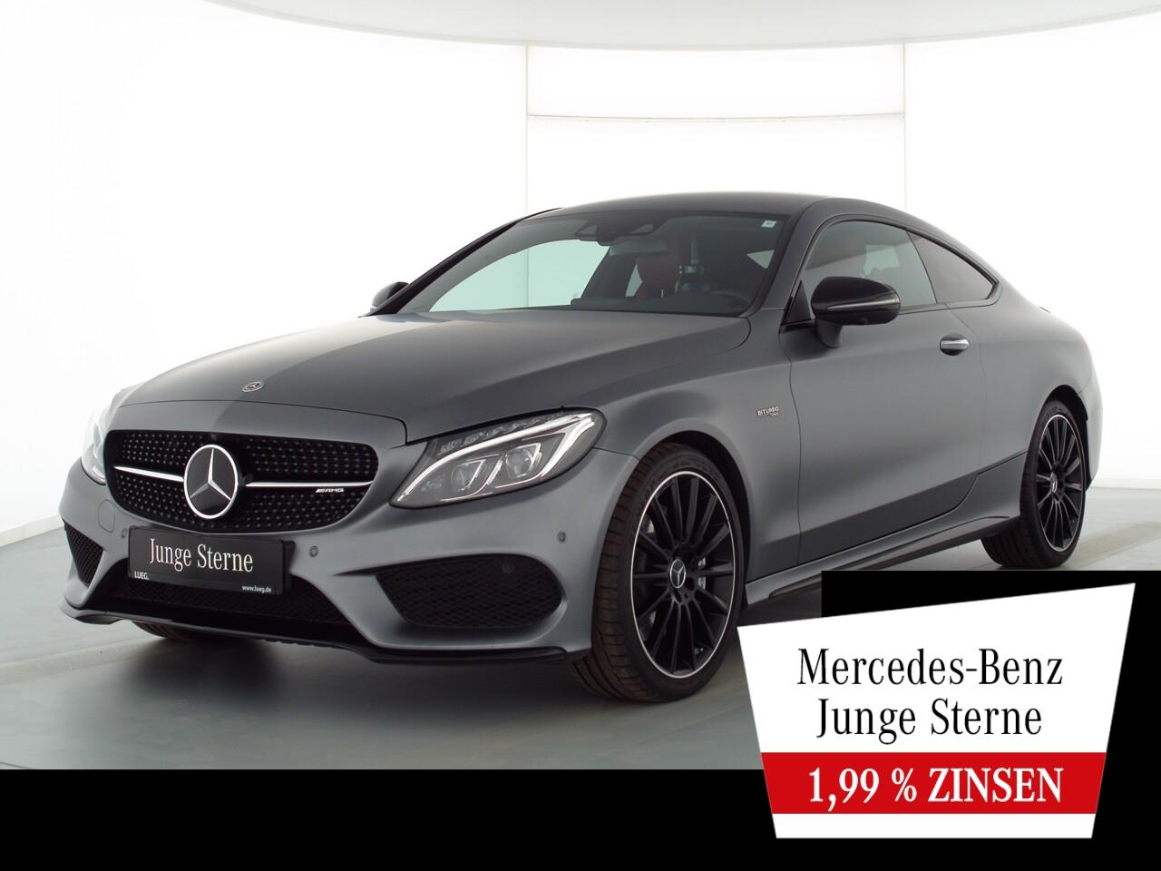 C 43 AMG 4M Coupe Navi+Burm+LED+Distr+Abgas+360°